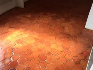 Traitement et rénovation de sol en terre cuite